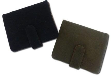 帆布2つボタン財布 モスグリーン(山形県米沢市)寄附金額50,000円 イメージ