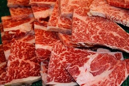 広島県産黒毛和牛肩ロース1.1kg 焼肉用(広島県大竹市)寄附金額30,000円 イメージ