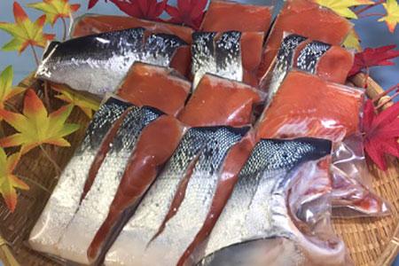 漁師が作った甘塩銀鮭 深層水仕込み 寄附金額20,000円(北海道羅臼町) イメージ
