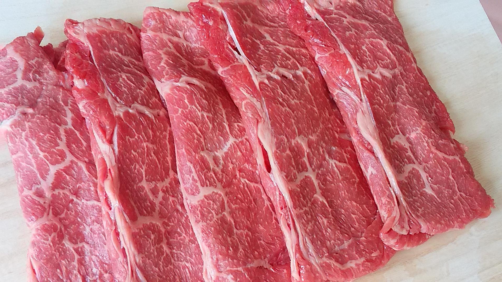 鳥取牛肩ロースすき焼き用 450g 寄附金額10,000円(鳥取県鳥取市) イメージ
