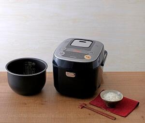米屋の旨み 銘柄炊き IHジャー炊飯器 10合 RC-IB10-B 寄附金額50,000円 イメージ