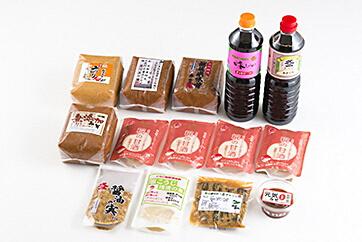 味噌まるごとセット(新潟県村上市)寄附金額50,000円 イメージ