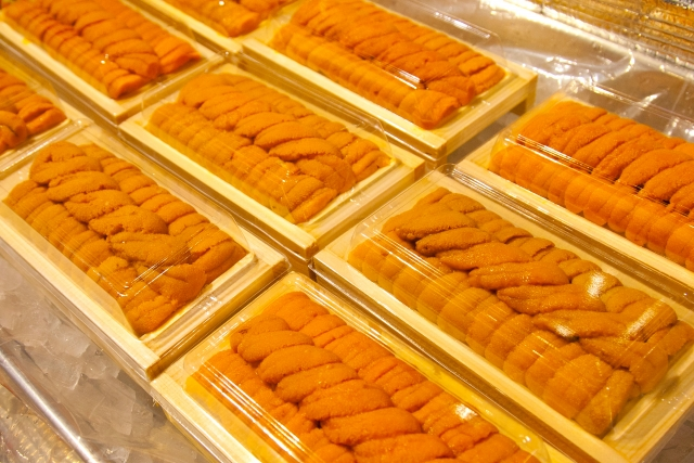 【4位】【鮮度抜群!極上生ウニ】生うに折100g 寄付金額20,000円 (北海道釧路市) イメージ
