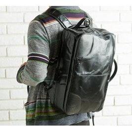 イタリアンレザー3way bag