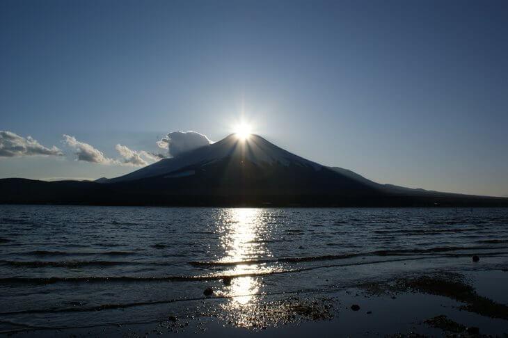 死ぬまでに一度は見たい瞬間「ダイヤモンド富士」 イメージ