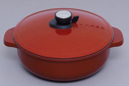 無加水鍋 28cm浅型 MKSN-P28S 寄附金額30,000円(宮城県角田市) イメージ