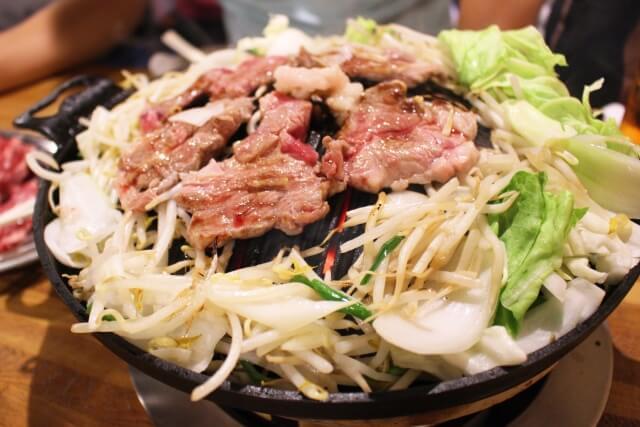 焼肉ジンギスカンセット【肉厚やわらか 3袋 計1.9kg】