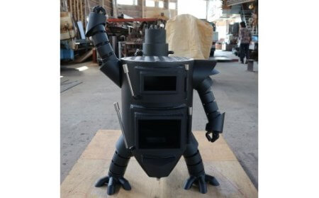 ロボット型薪ストーブミニ