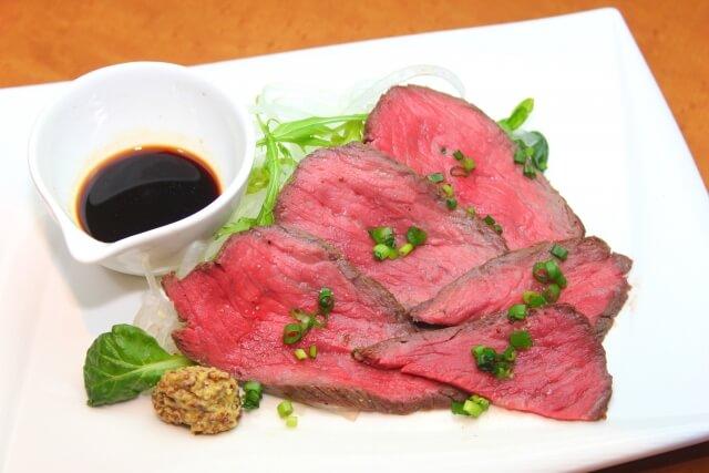 松阪牛ローストビーフ(自家製タマネギソース付)