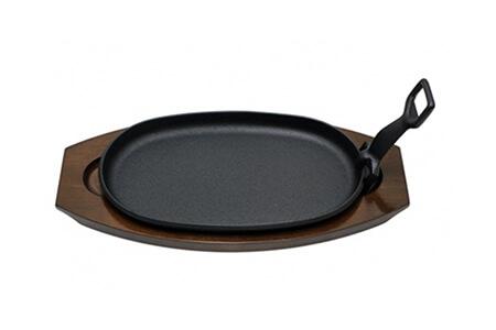 最高級和牛を焼くための南部鉄器ステーキ皿 寄附金額18,000円(岩手県奥州市) イメージ