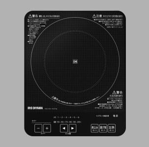 薄型IHクッキングヒーター1400W IHC-T41-B 寄附金額30,000円(静岡県小山町) イメージ