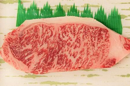 おおいた豊後牛「頂」ロースステーキ1枚 寄附金額10,000円 イメージ
