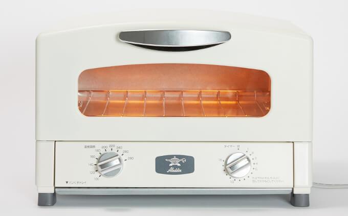 グラファイトトースター【2枚焼】(ホワイト) イメージ