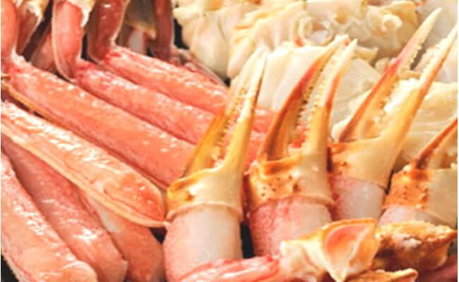 元祖カット済み生本ずわい蟹大盛り1.2kg 寄附金額20,000円(和歌山県湯浅町) イメージ