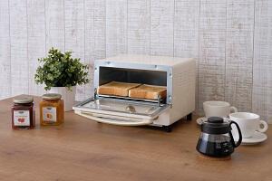 ricopa オーブントースターEOT-R1001-C(アイボリー) 寄附金額20,000円(静岡県小山町) イメージ