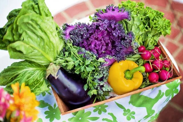 彩り野菜と【30年産】お米のセット 寄附金額10,000円 イメージ