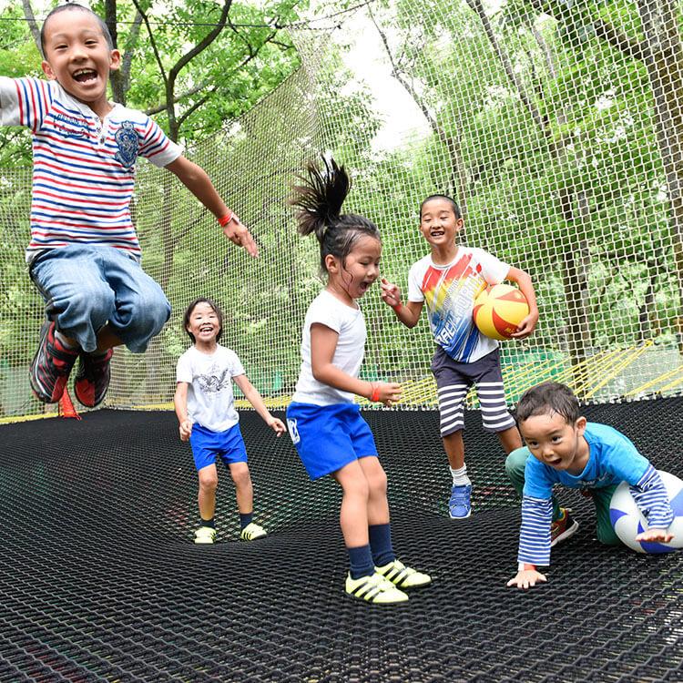 森の空中遊び パカブ 入場券5枚つづり 寄附金額34,000円 イメージ