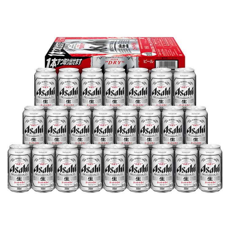 ビール アサヒ スーパードライ Superdry 350ml×24缶 1ケース 寄附金額15,000円 イメージ