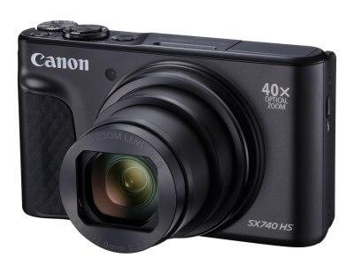 Canon PowerShot SX740 HS (ブラック) 寄附金額130,000円 イメージ