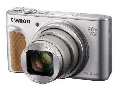 Canon PowerShot SX740 HS (シルバー ) 寄附金額130,000円 イメージ