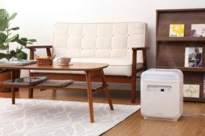 空気清浄機能付加湿器 SHA-400A 寄附金額30,000円(宮城県角田市)