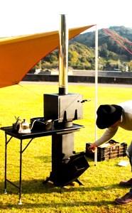 テーブル型調理用コンロストーブ「スマートロケット」オーブン室付き 寄付金額550,000円 イメージ