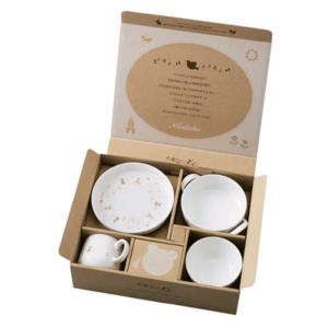 ノリタケ食器 ライトステップ 子供セット(ピンク) 寄附金額30,000円(愛知県みよし市)