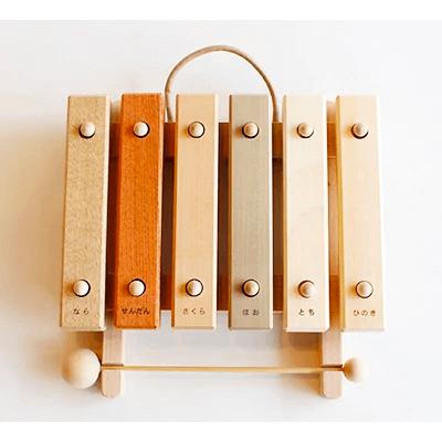 小さな森の合唱団 童話版 木琴【音色も豊かな知育玩具。持ち運びも便利な小サイズ】寄附金額29,000円(岐阜県本巣市) イメージ