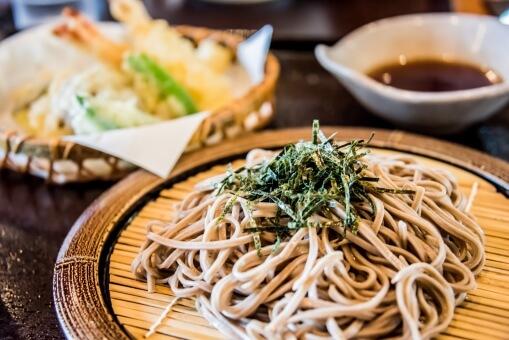 ながいきそば(乾麺)200g×15袋 寄附金額10,000円 イメージ