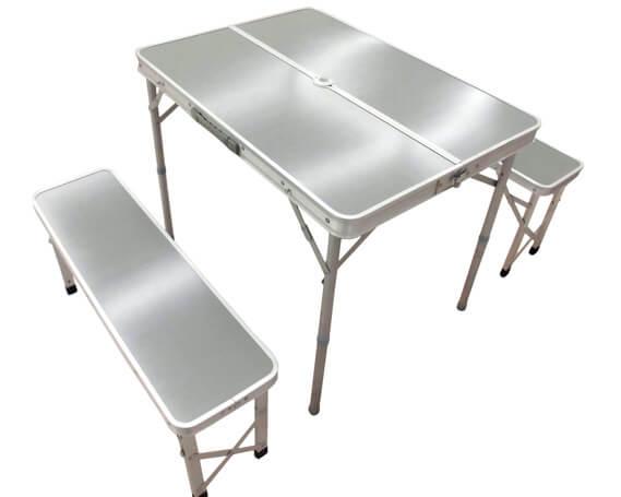 テーブル&ベンチセット メラミン天板D イメージ