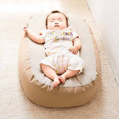 Cカーブ授乳ベッド「おやすみたまご」寄附金額30,000円(兵庫県小野市) イメージ