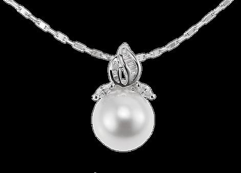 パールペンダント(K18WG)【宇和島産あこや真珠】 イメージ
