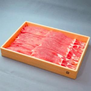 茨城県産ブランド豚ローズポークすき焼き用スライス 約1kg 寄附金額10,000円