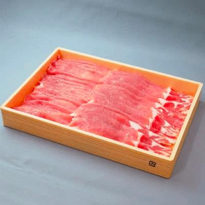 茨城県産ブランド豚ローズポークすき焼き用スライス 約1kg 寄附金額10,000円 イメージ