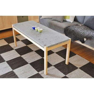 n'frame Center Table Stone