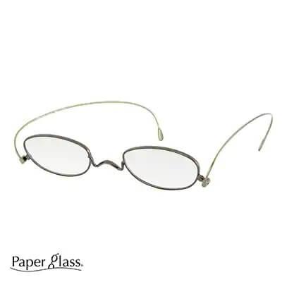 薄さ2mmの老眼鏡 【ペーパーグラス】オーバル