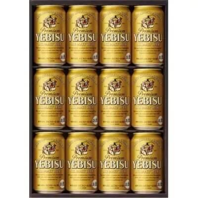 地元名取生産 ヱビスビール(350ml×12本)4回お届け