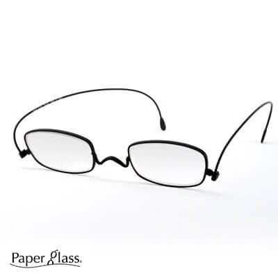 薄さ2mmの老眼鏡 【ペーパーグラス】スクエア