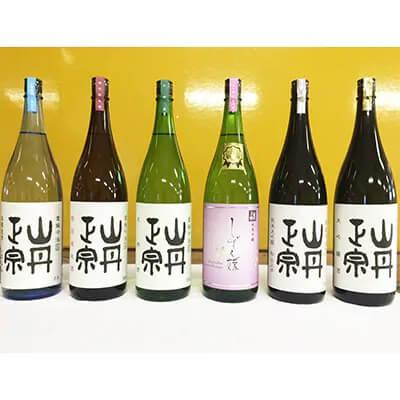 山丹正宗 地酒1.8L 6本セット