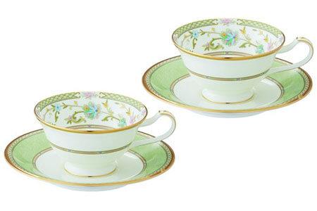YOSHINO ティー・コーヒー碗皿ペアセット