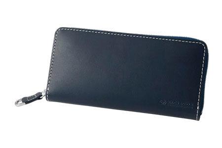 SOMES PA-11 ラウンド財布(ネイビー)