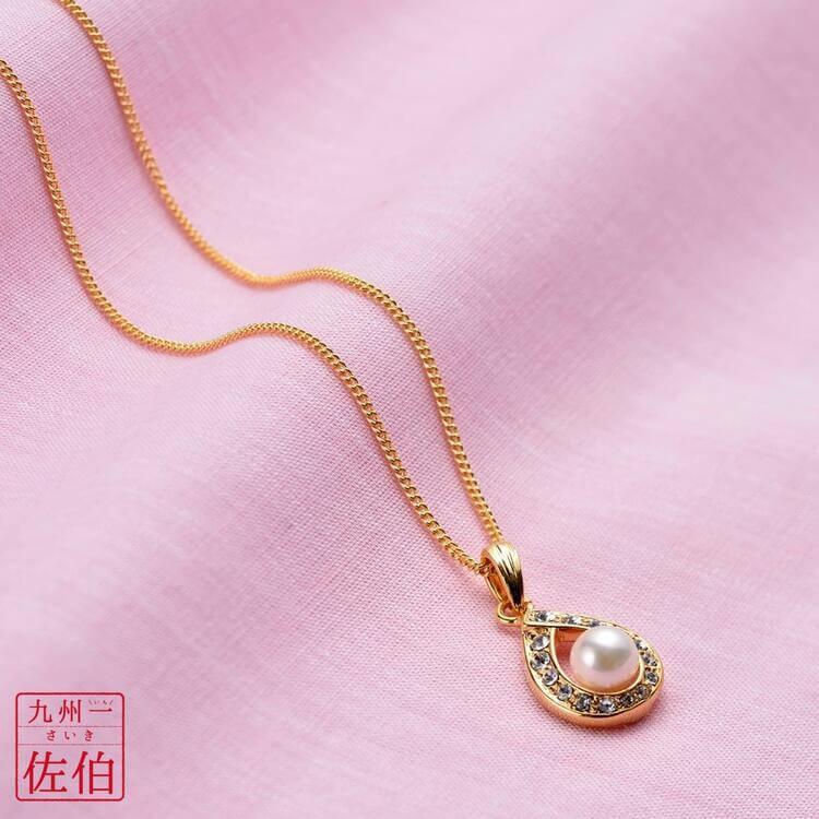 アコヤ真珠6ミリ珠ペンダント(45cm) イメージ