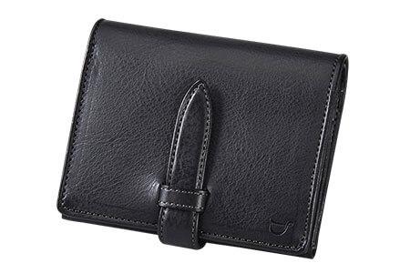 SOMES AVN-03 ラウンド財布(ブラック)
