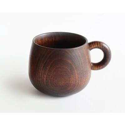 シェーヌ・ドゥ・マグカップ【国産材の温もりある食器】漆塗りマグカップ