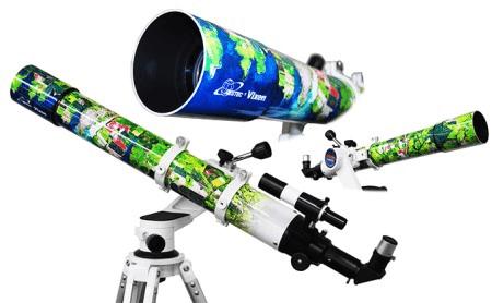天体望遠鏡サテライトポルタ アースシリーズ 鮮やかな南米の大地 イメージ