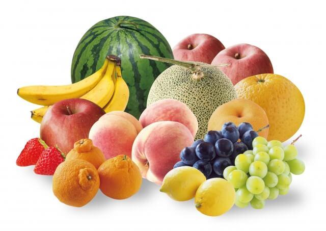 球磨の季節のフルーツセット(苺、メロン、桃、梨、栗)