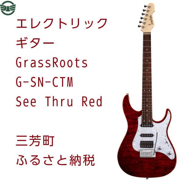 エレクトリックギター G-SN-CTM See Thru Red イメージ