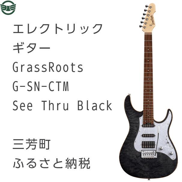 エレクトリックギター G-SN-CTM See Thru Black