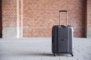 ファスナーキャリー スーツケース 機内持ち込み Sサイズ(エンボス/ガンメタリック)
