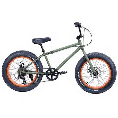 ブロンクス ファットバイク 20DD (アーミーグリーン×オレンジ)